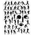 American Football Baseball and Cricket Sport vector image