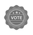 Vote Sticker vector image
