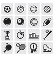 Set sports vector image