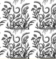 Pattern with griffin vector image