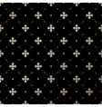 Seamless gold English pattern on a black vector image