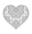 ornamental Heart vector image