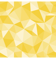 Brilliant seamless pattern Diamond triangle vector image