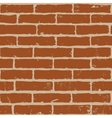 brrick wall vector image