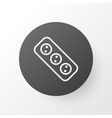 socket icon symbol premium quality isolated vector image