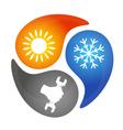 Air Conditioning Repair vector image