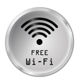 Free WiFi Icon vector image vector image