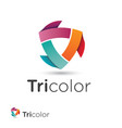 V 000185 Tricolor vector image