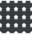 Straight black home pattern vector image