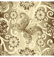 Seamless silvery pattern vector image