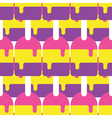 Seamless Popsicle Pattern Candy vector image