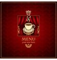 menu scene vector image vector image