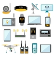 Wifi remote control electronic gadgets vector image