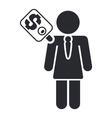 corruption icon vector image