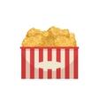 Chicke Nuggets Street Food Menu Item Realistic vector image
