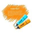 marker text box vector image vector image