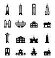 Building set vector image
