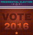Usa Presidential Election Vote 2016 Banner vector image