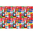 flags pattern vector image