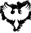 grunge eagle vector image