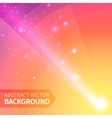 Soft colored abstract background with beam light vector image