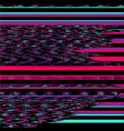 television noise background vector image