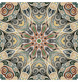 mandala arabic vintage seamless pattern vector image