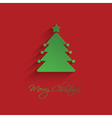 christmas tree background 1710 vector image vector image