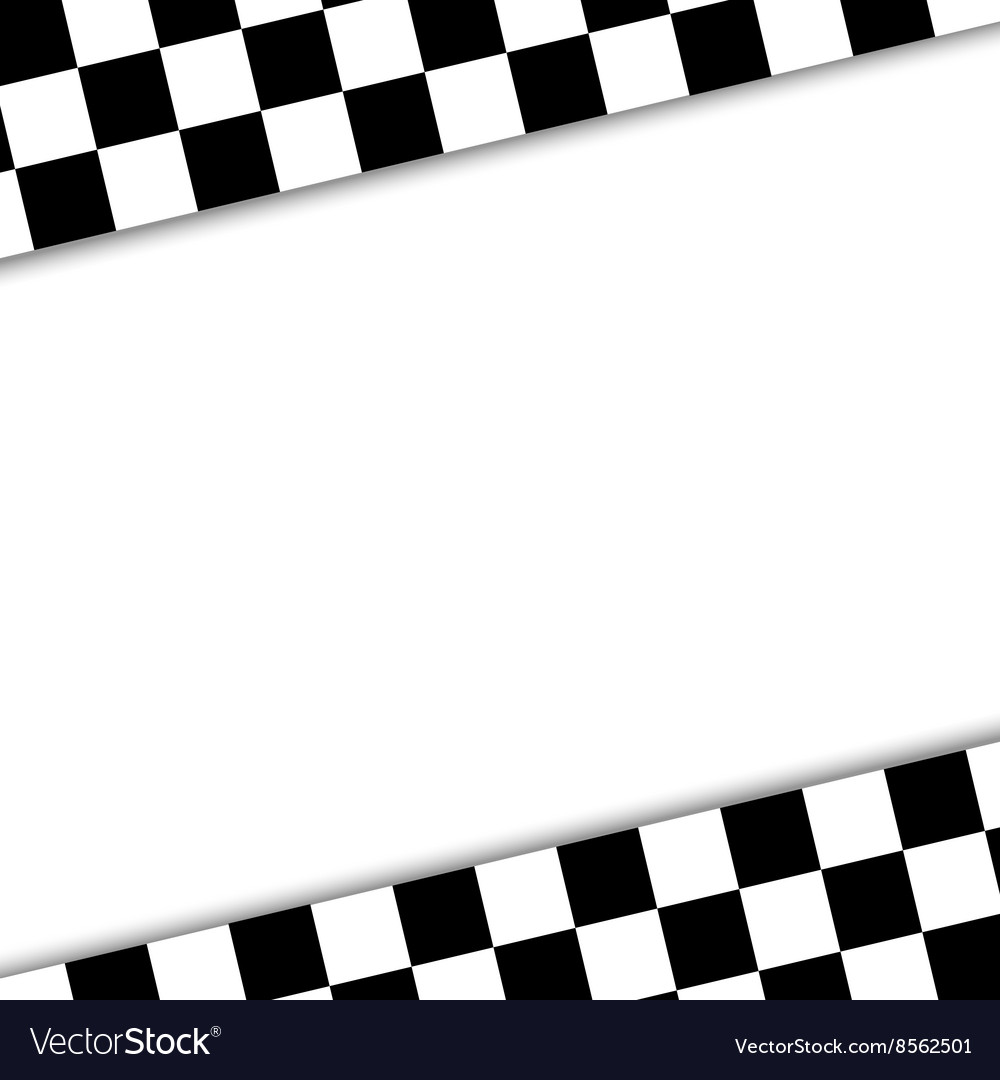 Flag to finish the race vector
