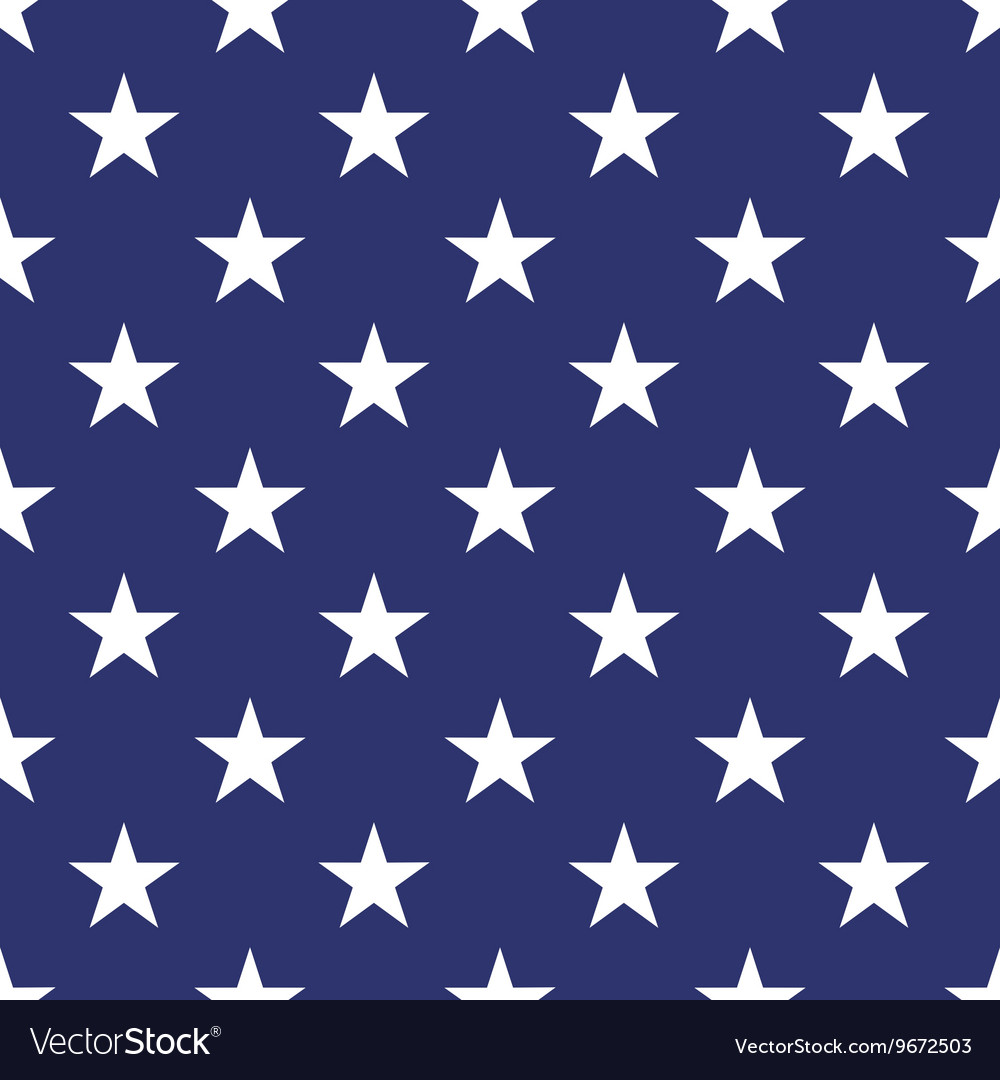 Patriotic usa seamless pattern vector