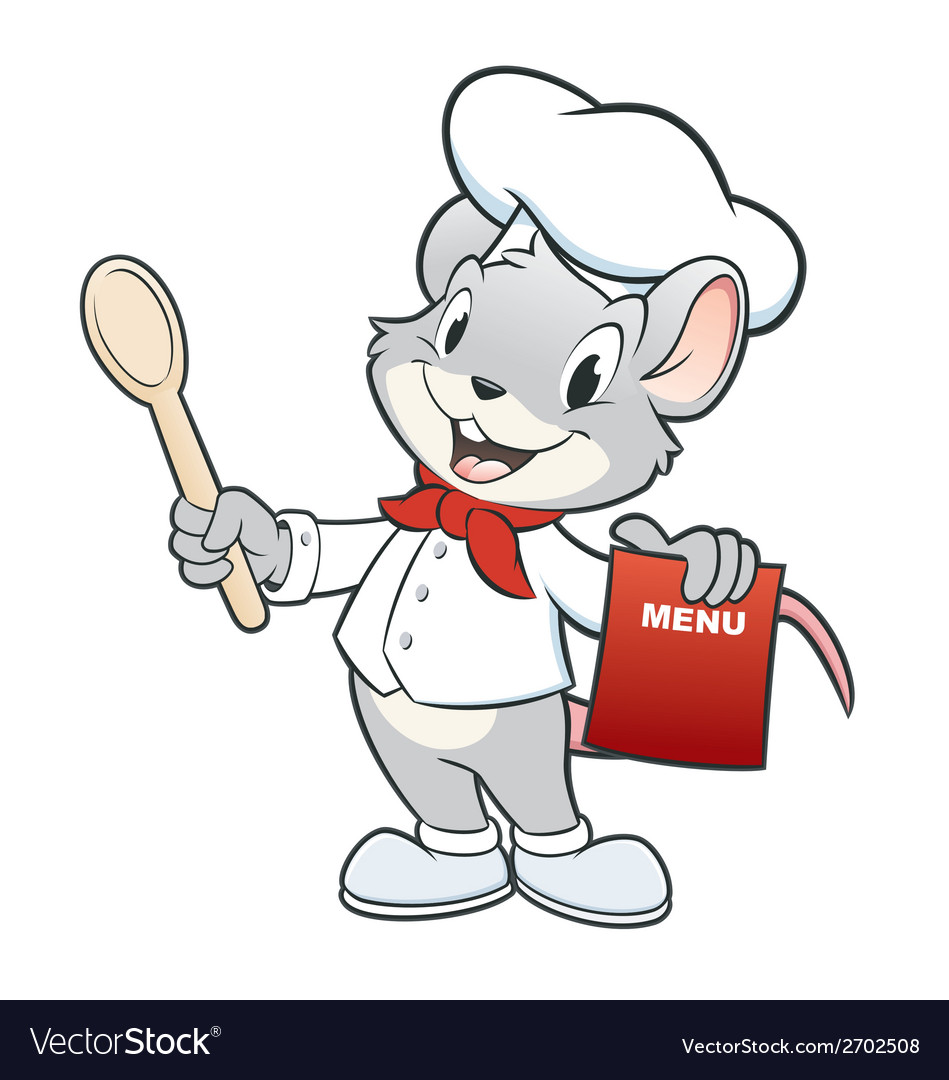 Chef mouse vector