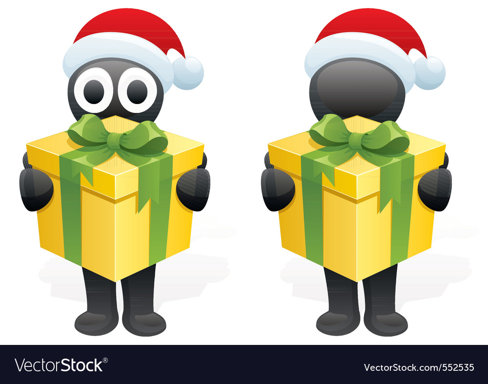 Inkys gift vector