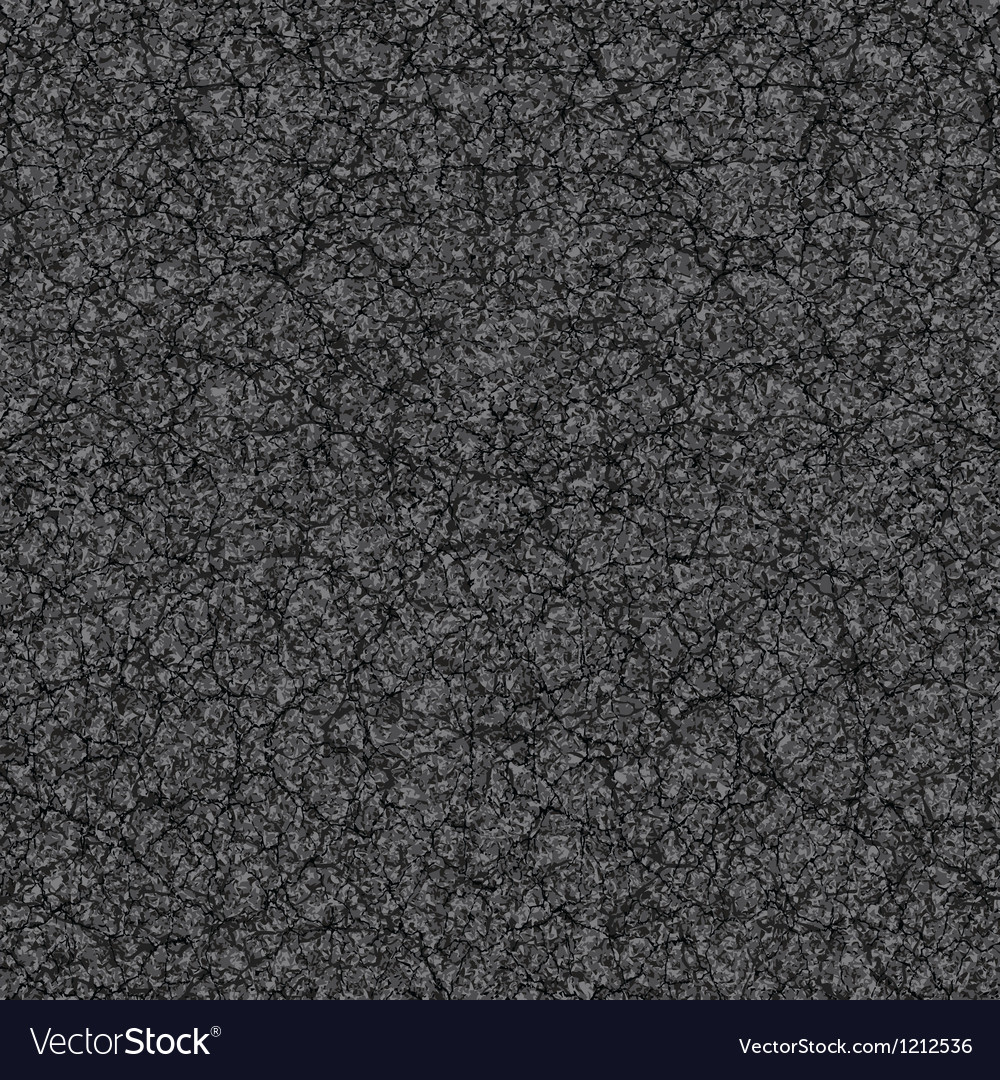 Cracked asphalt vector