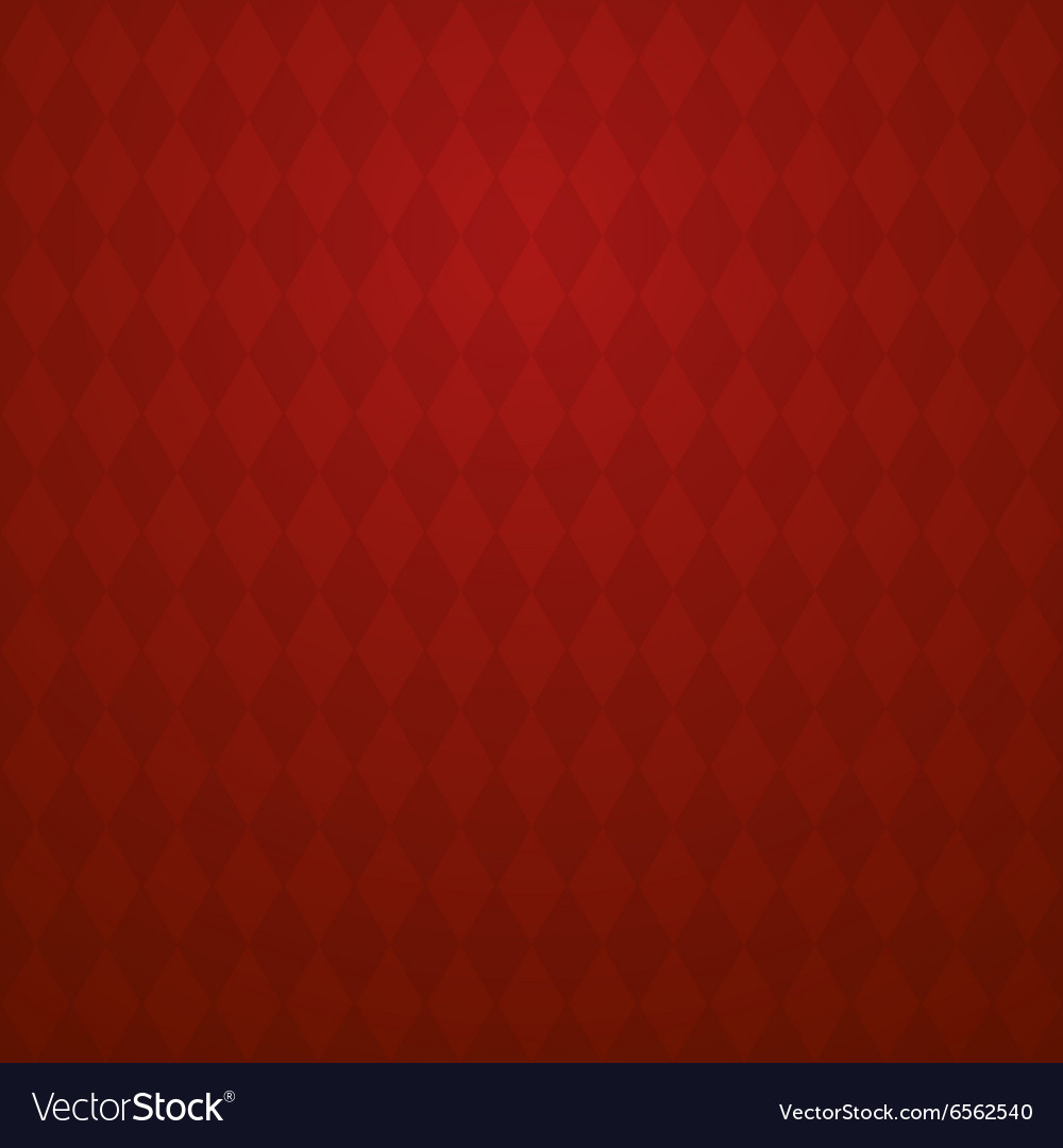 Background with light and dark red rhombus vector