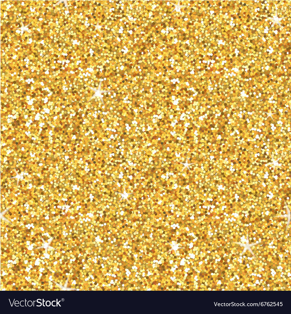 Golden glitter background  seamless pattern vector