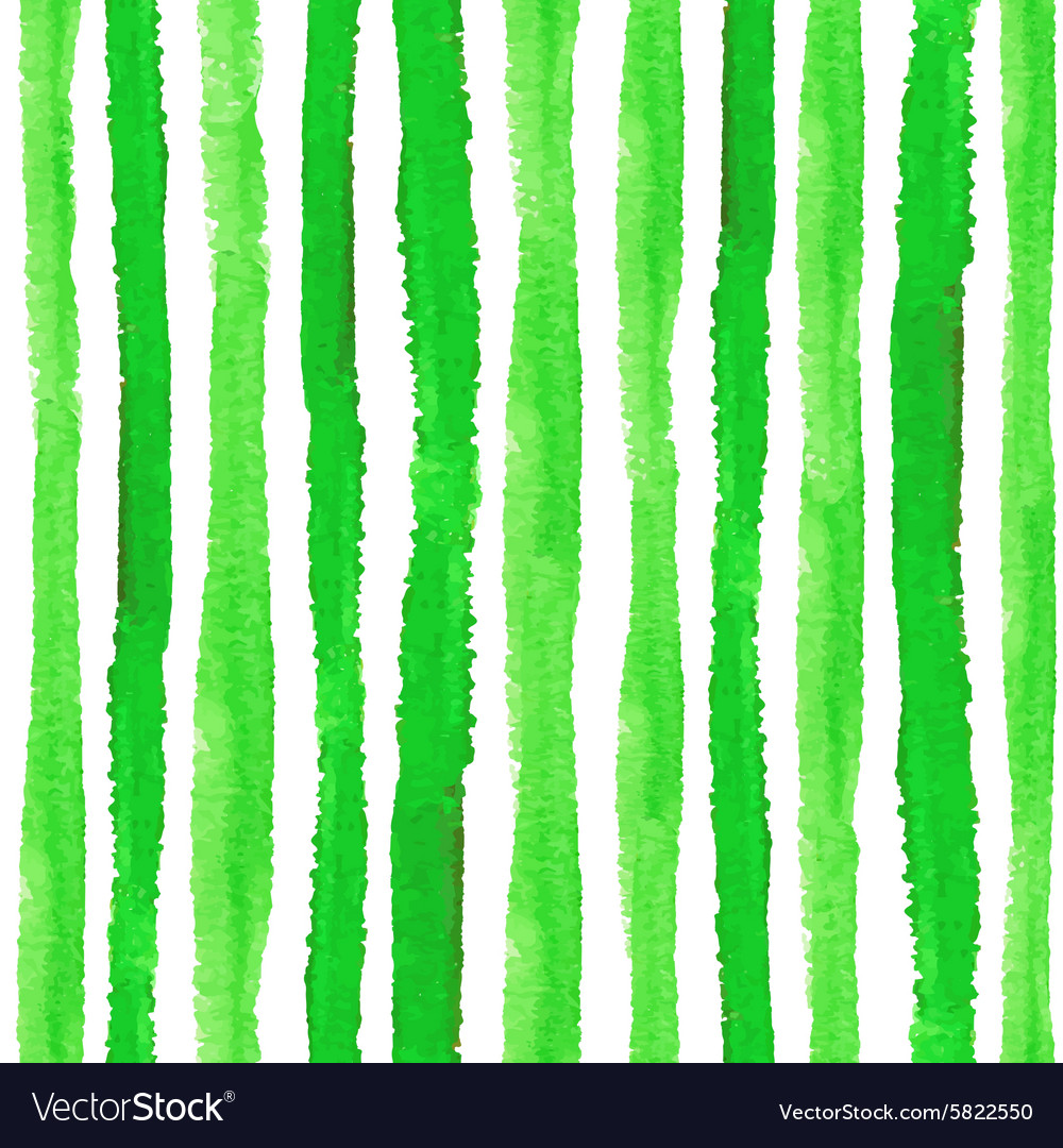 Watercolor strips seamless pattern setnatural vector