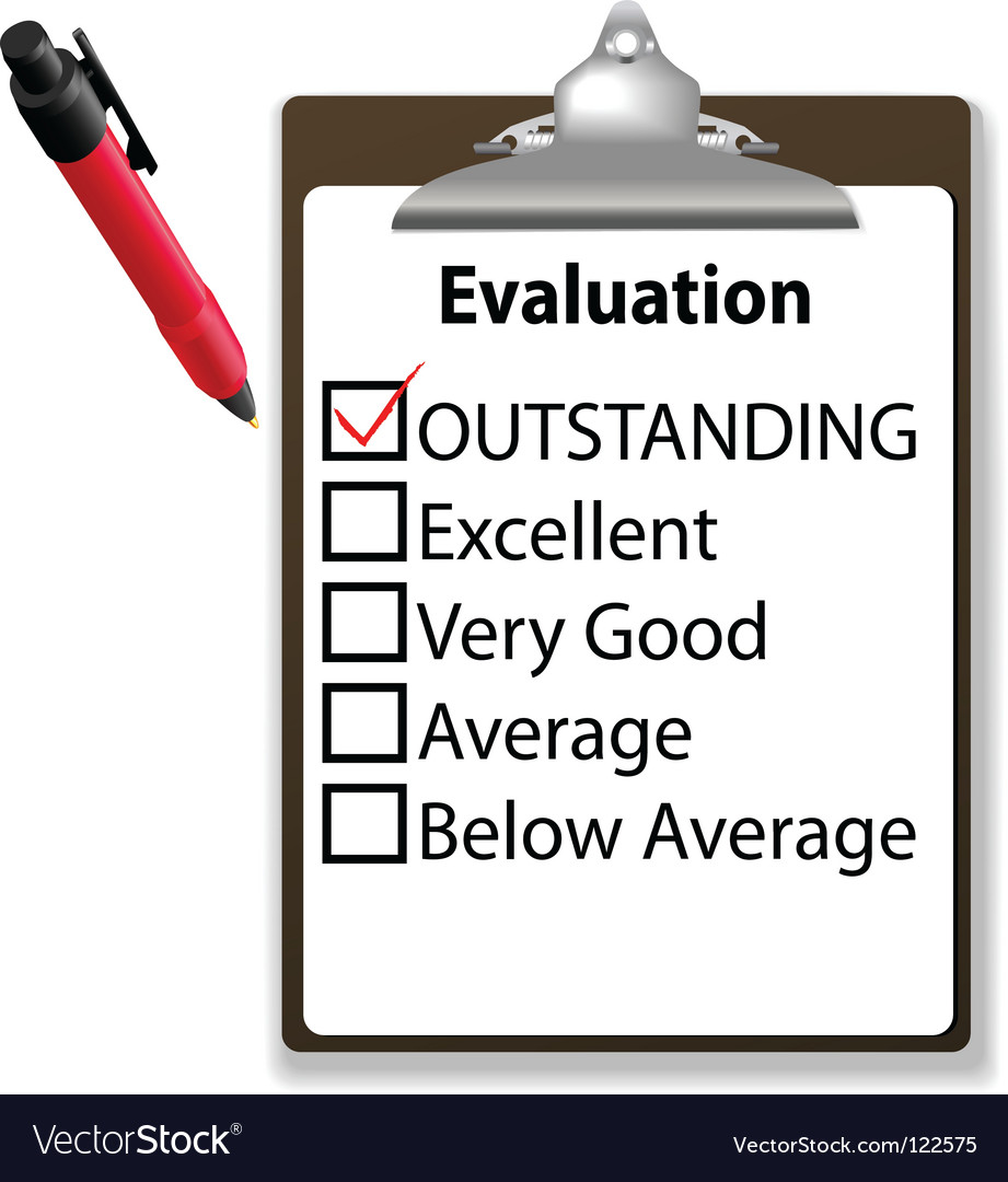Job evalution check vector