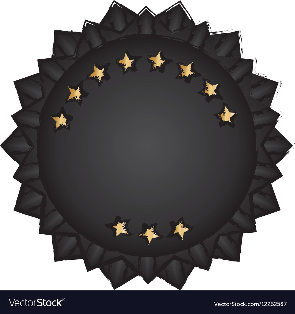 Isolated ribbon award vector