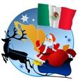 Merry Christmas Mexico vector image