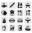 set barbecue vector image