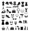 Fashion accessories - vector image