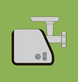 Meat Grinder Icon vector image