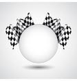 Racing background vector image vector image