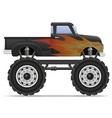 monster truck 02 vector image vector image