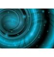 abstract shiny aquamarine background vector image