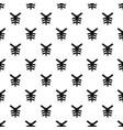 human thorax pattern vector image