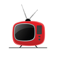 tv color vector image