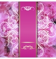 pink background with space for inscriptions and vector image