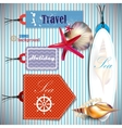 travel Labels and Tags vector image vector image