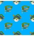 Circular saw jigsaw seamless pattern vector image